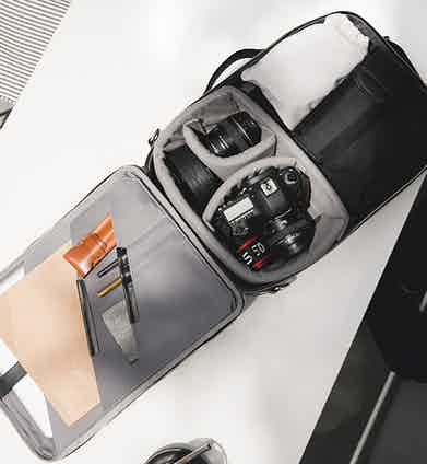 Temporary Forevers bags are designed with the storage needs of the modern man in mind.
