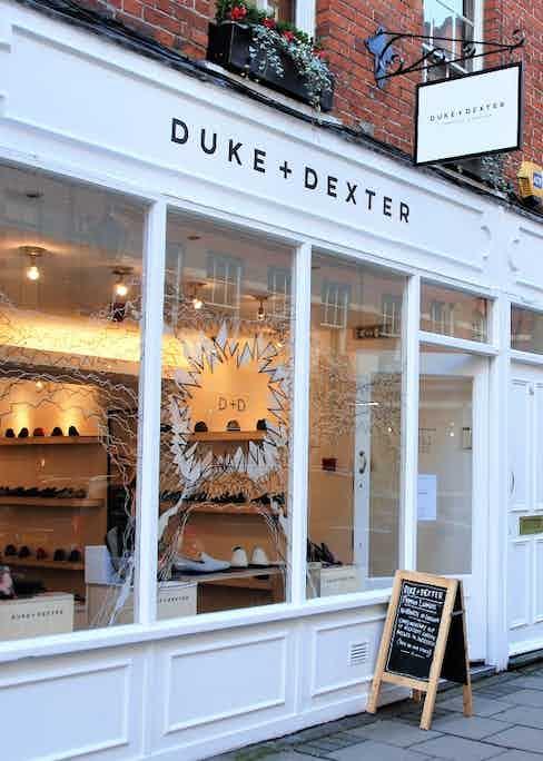 The Duke & Dexter flagship store in Covent Garden.
