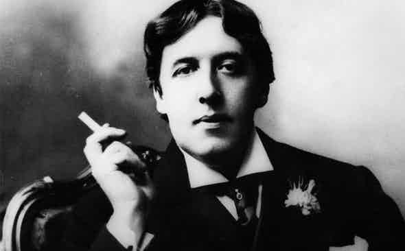 Oscar Wilde and the Joys of Smoking