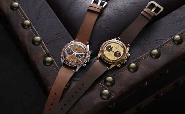 Bell & Ross x The Rake x Revolution Bellytanker Chronographs
