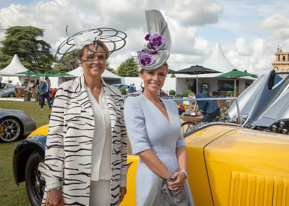 Friday is Boodles Ladies' Day whereby all female attendees are encouraged to clad their domes with spectacular examples of millinery.