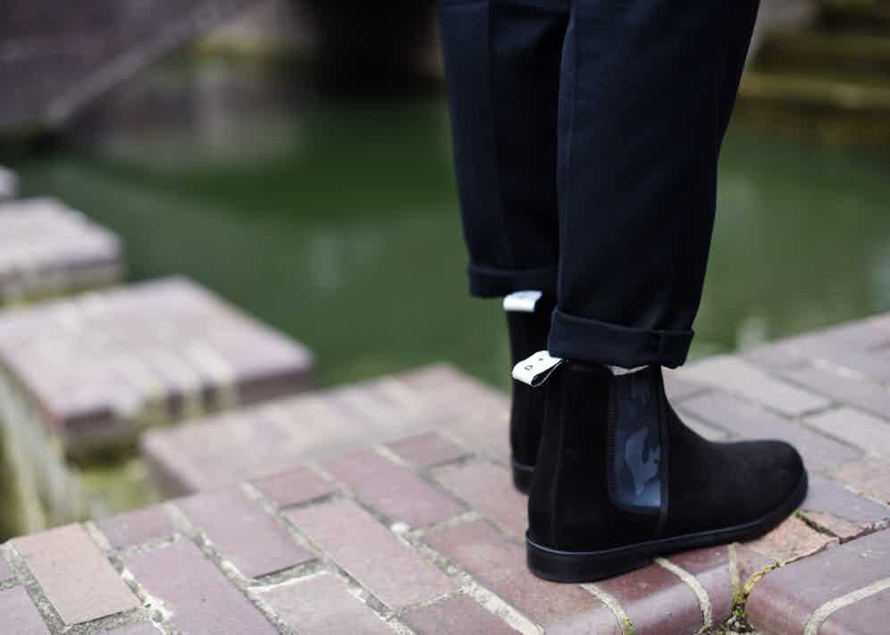 Duke & Dexter's contemporary take on the traditional Chelsea boot.