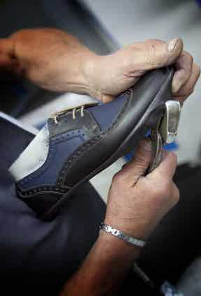 Shoes from ALODD are timeless yet modern: traditional techniques and craftsmanship come together to produce a sleek and contemporary product.