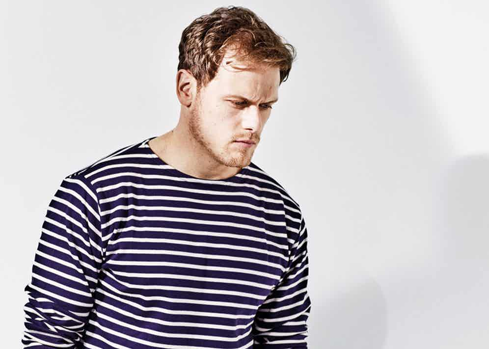 Navy and cream stripe mariniere long-sleeved cotton Breton top, Armor Lux at The Rake.