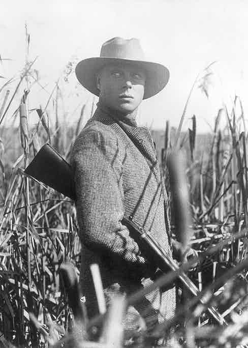 The Duke of Windsor on a Shooting Expedition, 1936