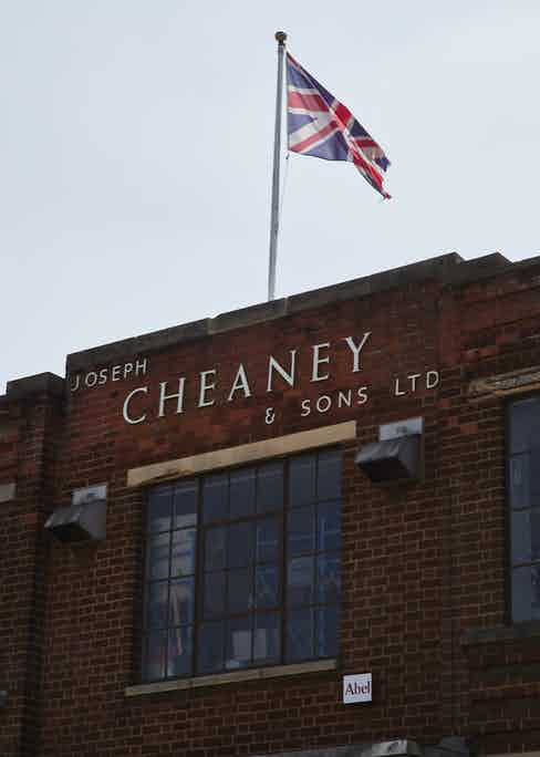 Founded in 1886, Joseph Cheaney & Sons has been operating out of the same factory in Desborough since 1890. Photo by James Munro.