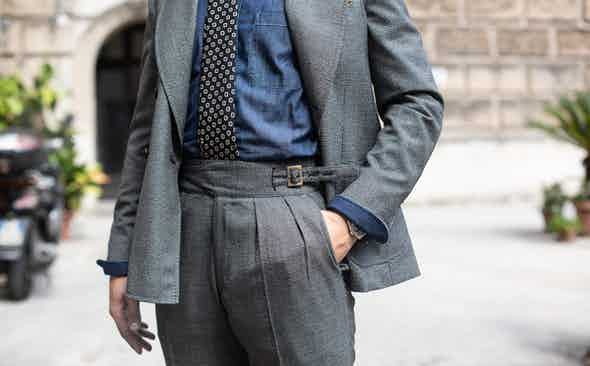 Exclusive! Rubinacci for The Rake Double-Breasted Houndstooth Suit