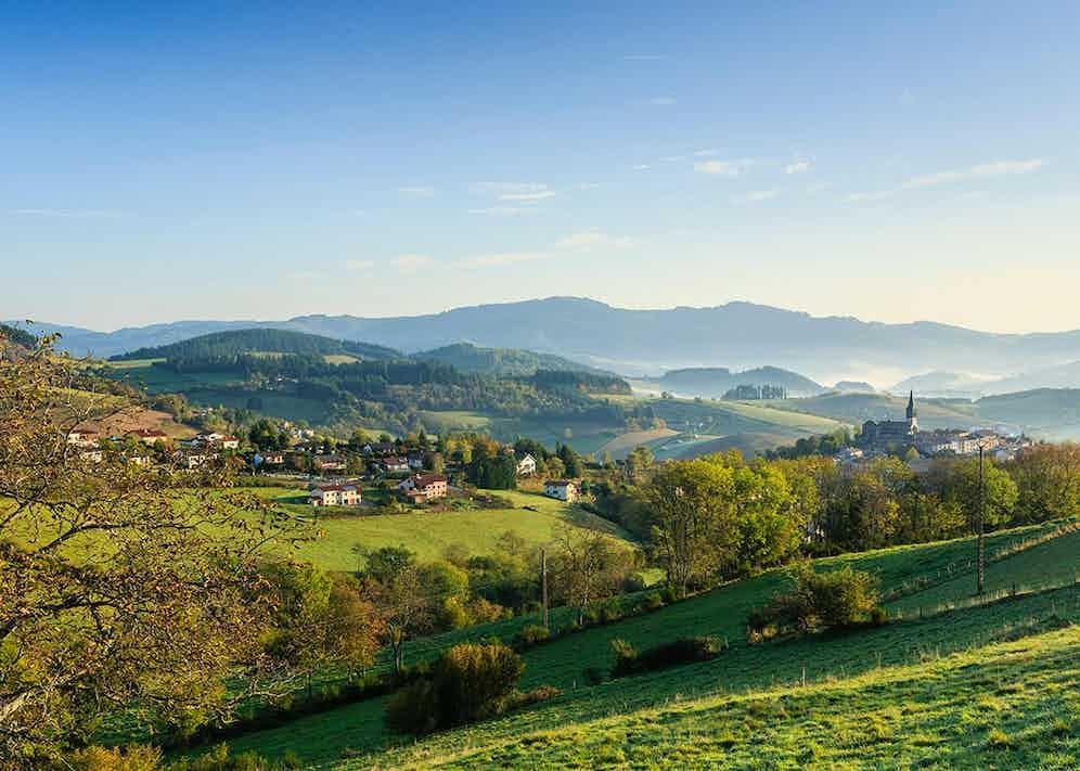France, Rhone, Beaujolais region, Saint-Just-d'Avray