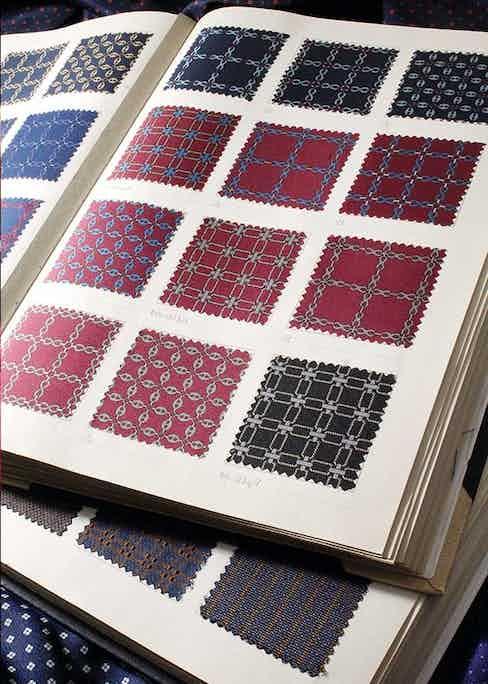 Bigi Cravatte prides itself on its distinctly Milanese patterns.