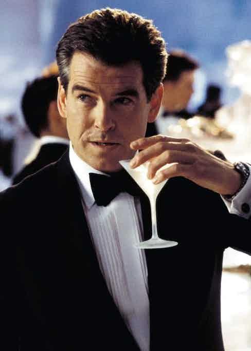 James Bond: the world's most iconic Martini drinker.