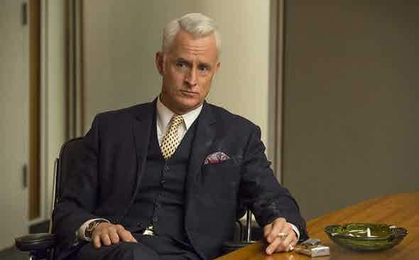 This Week We're Channelling: Roger Sterling in Mad Men