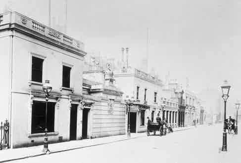 An early look at Savile Row.