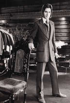 Tommy Nutter was famous for reinventing Savile Row in the 1970s.