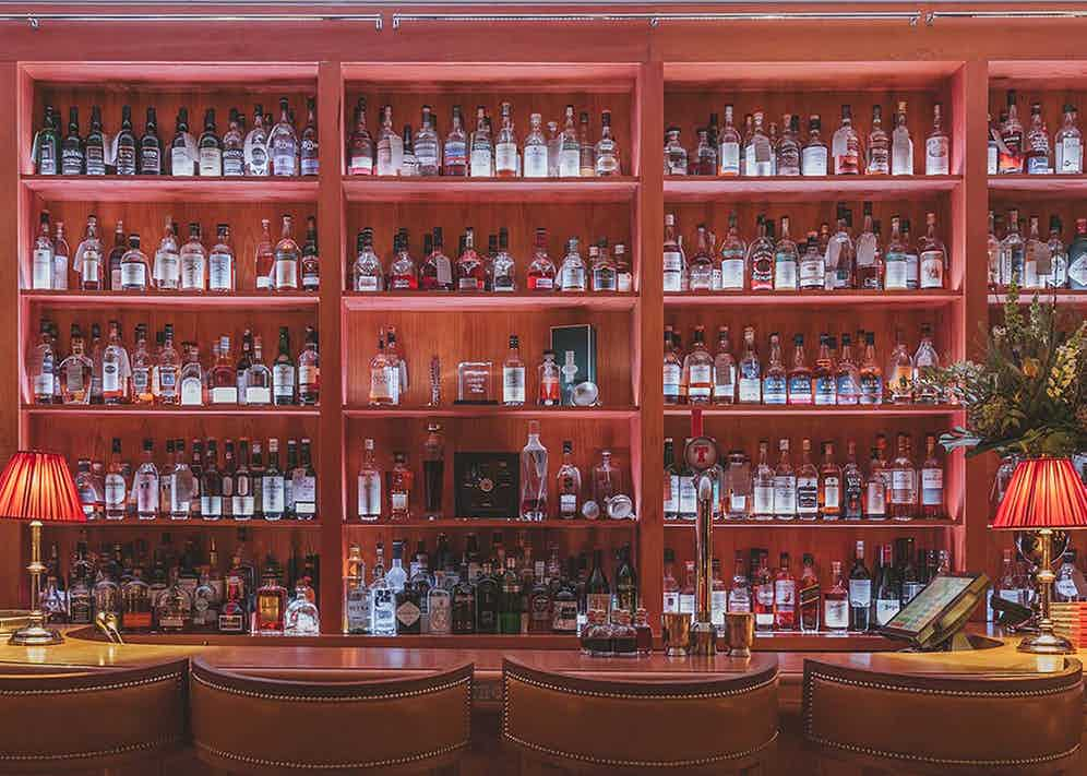 The Quaich Bar at the Craigellachie Hotel should keep you pleasantly occupied during your stay.