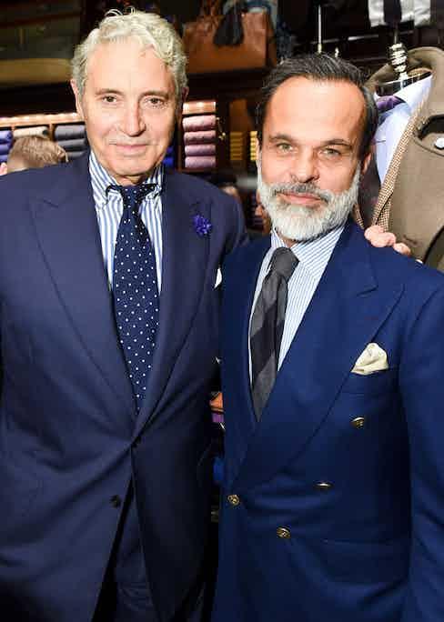 Michael Nouri and Lorenzo Cifonelli.