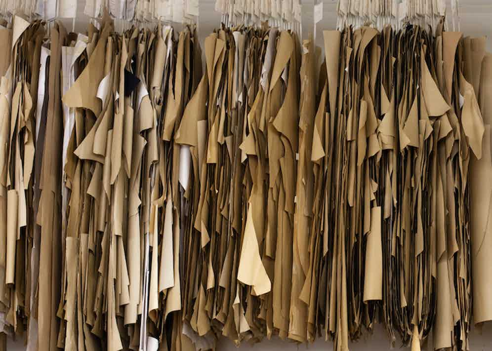 A glimpse into the pattern room at De Petrillo's laboratory in Frattamaggiore. Photography by Shaun Darwood.