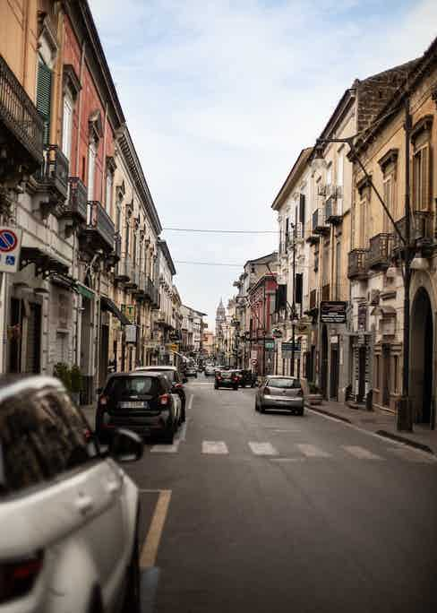 De Petrillo is located in northern Naples in Frattamaggiore. Photography by Shaun Darwood.