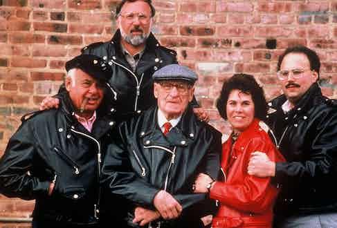 Mel Schott, Steve Colin, Irving Schott, Roz Schott and Milton Perlman.