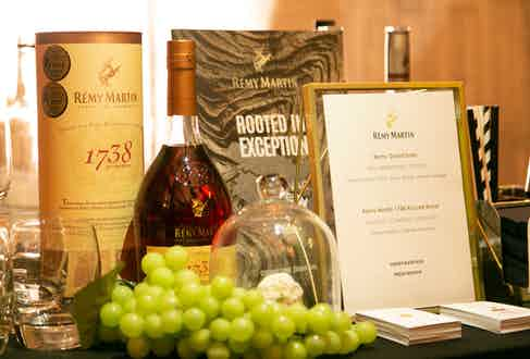 We'd like to say thank you to Remy Martin for keeping our guests refreshed throughout the whole evening.