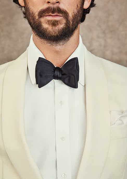Evening wear is actually a far more multifarious genre of men's style than people imagine, but it's hard to beat the classic white tux ensemble.