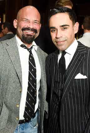 Arnaldo Anaya-Lucca and Basha Singh.