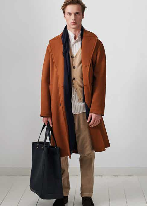 Doppia's luxurious outerwear makes for elegant autumnal dressing.