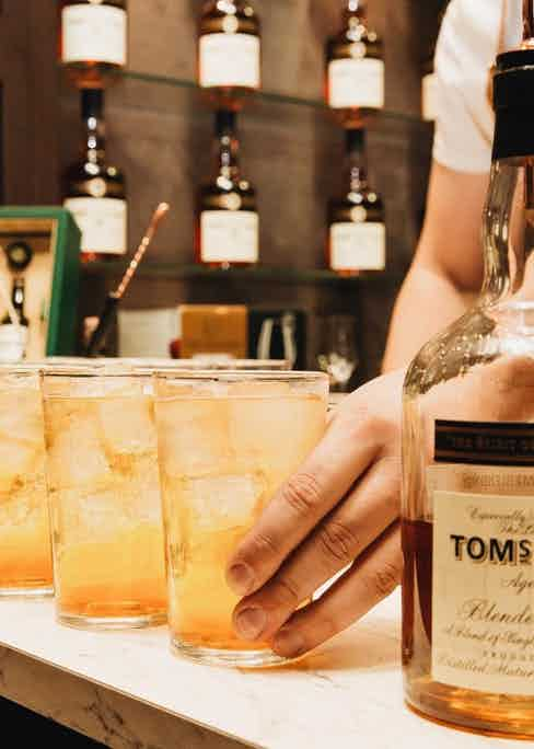 Tom's Blend, The Last Drop Distillers' delicious house pour, is a tribute to the company's President and co-founder Tom Jago.