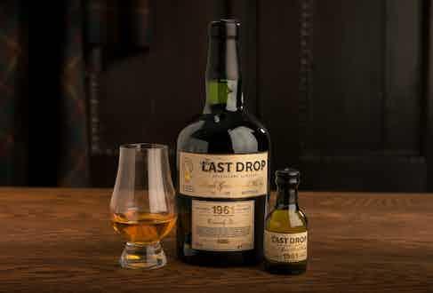 The Last Drop Distillers' 1961 Single Grain Scotch Whisky.