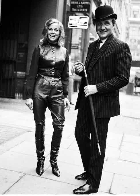 The fictional John Steed from the 1960s television series The Avengers was an impeccable dresser, all the way down to his Chelsea boots.