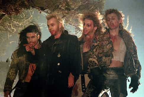 David and his vampire gang came to define an alternative, counter-cultural approach to dressing.