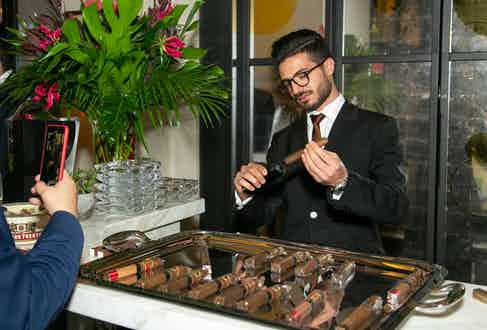 We'd like to say a huge thank you to Arturo Fuente who supplied copious amounts of cigars.