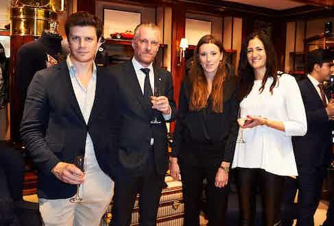 Alex Oprey, Roger Stephenson, Arabella Boardman and Jema Avedian.