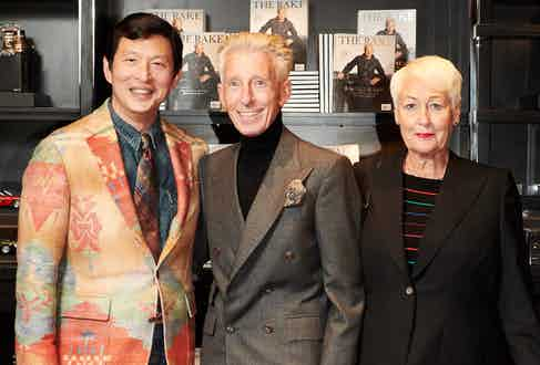Wei Koh and Edward and Joan Sexton.