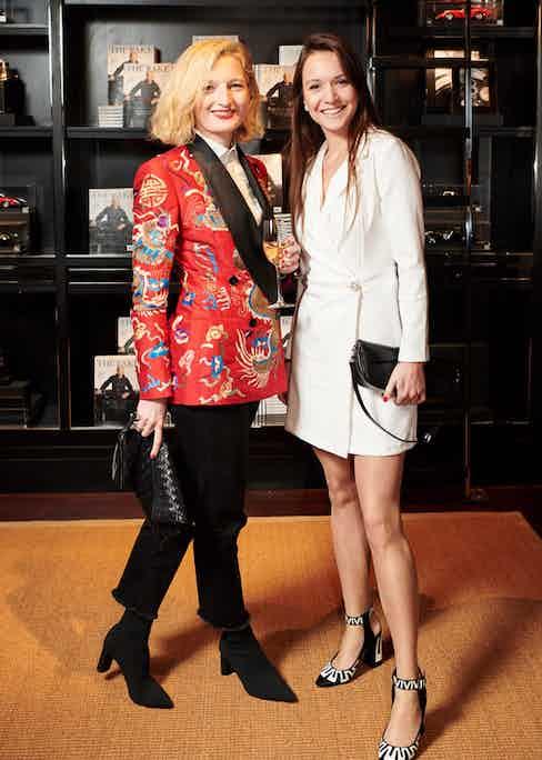 Olivia Fournier and Natali Zdravkova.