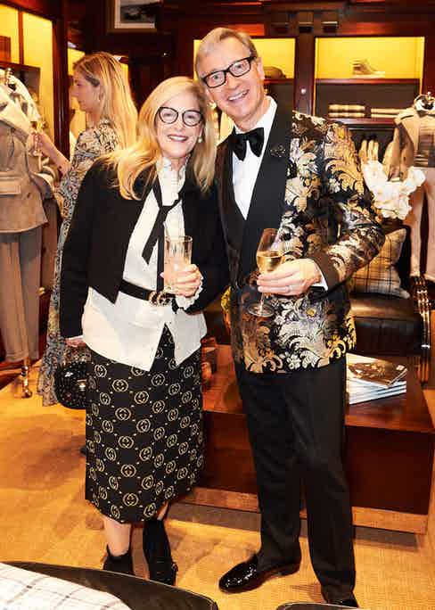 Laurie and Paul Feig.