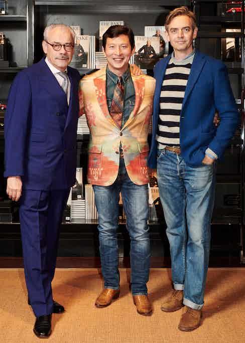 George Glasgow Snr, Wei Koh and Toby Bateman.