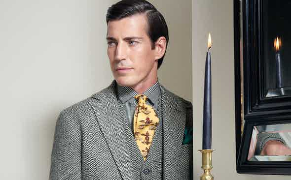Ralph Lauren 50th Anniversary Limited Edition Heritage Tie Collection