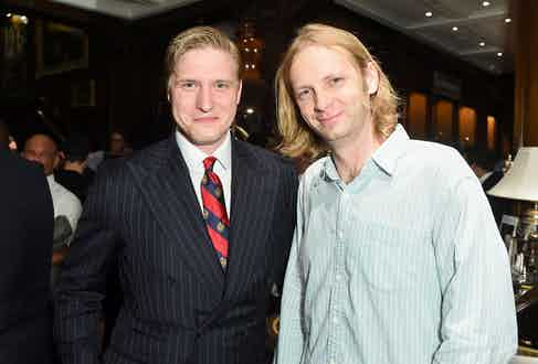 Tom Chamberlin and Carter Berg.