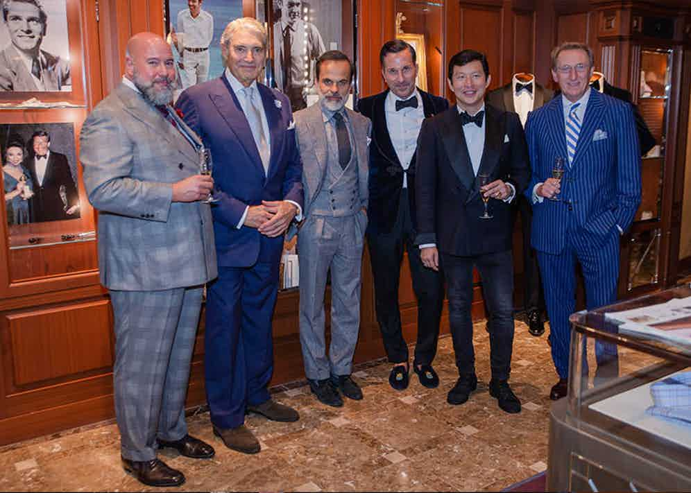 Richard Casavechia, Michael Nouri, Lorenzo Cifonelli, Alexander Kraft, Wei Koh and Leonard Logsdail.