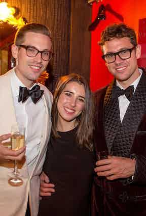 Ben St George, Phoebe Fox and Ryan Thompson.