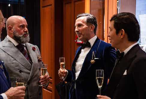 Richard Casavechia, Alexander Kraft and Wei Koh.