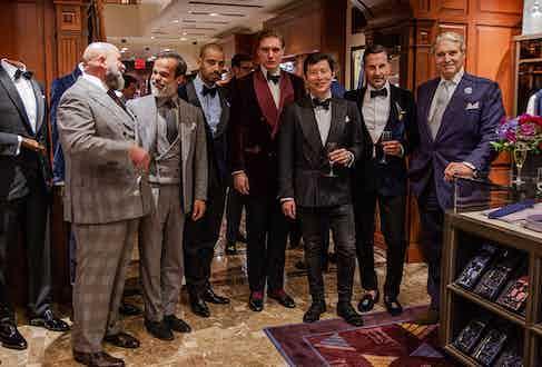 Richard Casavechia, Lorenzo Cifonelli, Alain Gafundi, Tom Chamberlin, Wei Koh, Alexander Kraft and Michael Nouri.