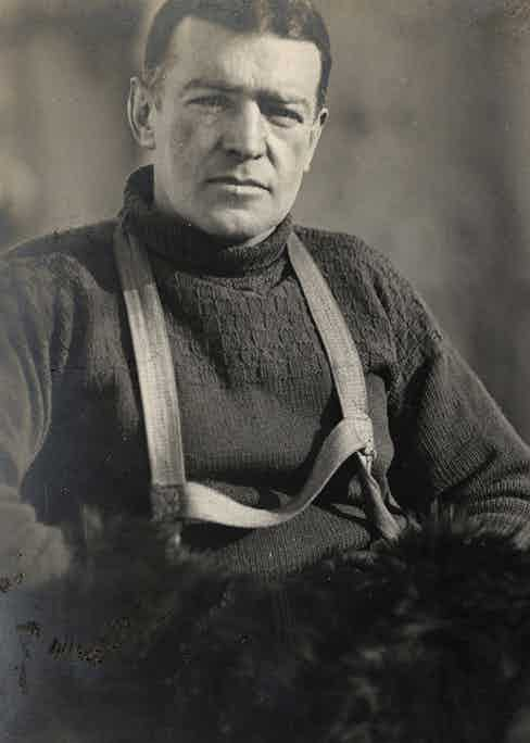 Shackleton have respectfully reproduced the same lambswool jumper that its namesake hero Sir Ernest wore.