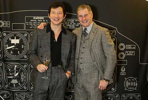 Wei Koh and Hackett founder Jeremy Hackett.