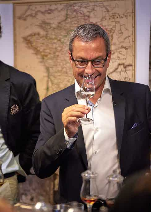 François is considered a luminary in the luxury spirits industry.