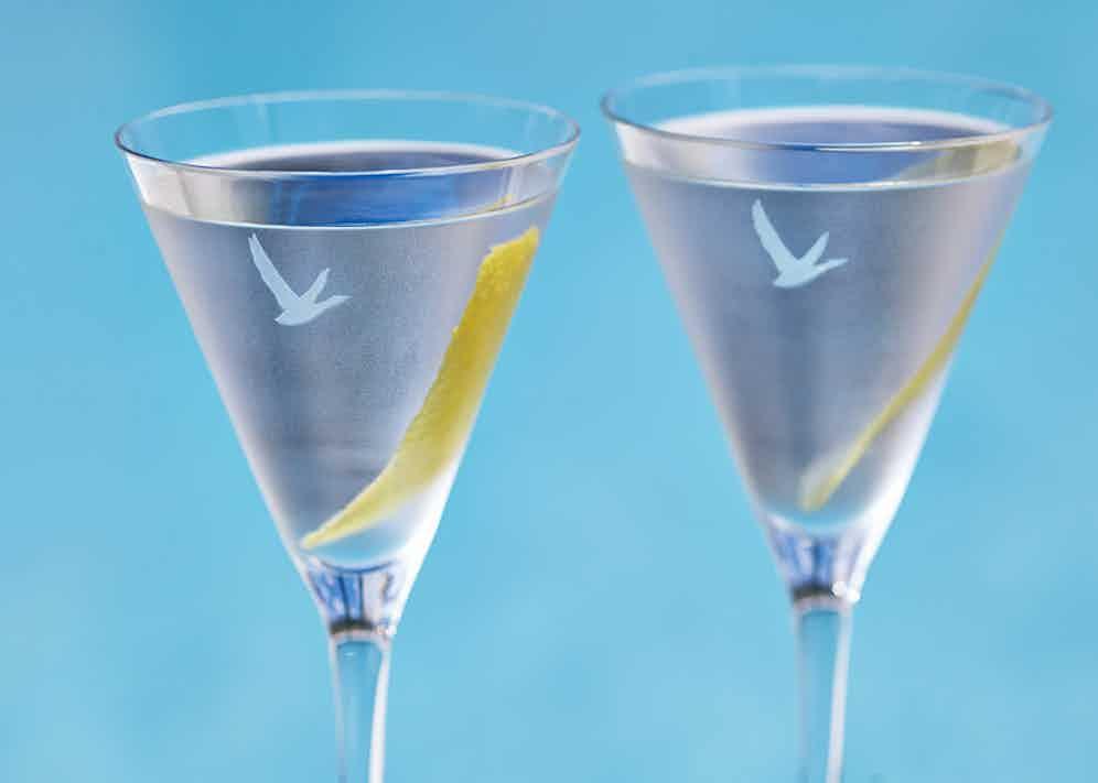 A perennial favourite: the Grey Goose martini.