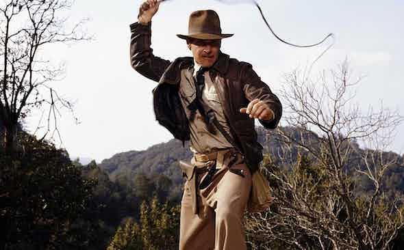 This Week We're Channelling: Indiana Jones in Raiders of the Lost Ark