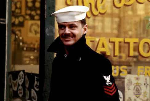 Jack Nicholson in The Last Detail, 1973.