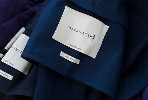 All products are manufactured by skilled craftsmen in Mackintosh's factory outside Glasgow using the same tradition pioneered in the early 19th century.