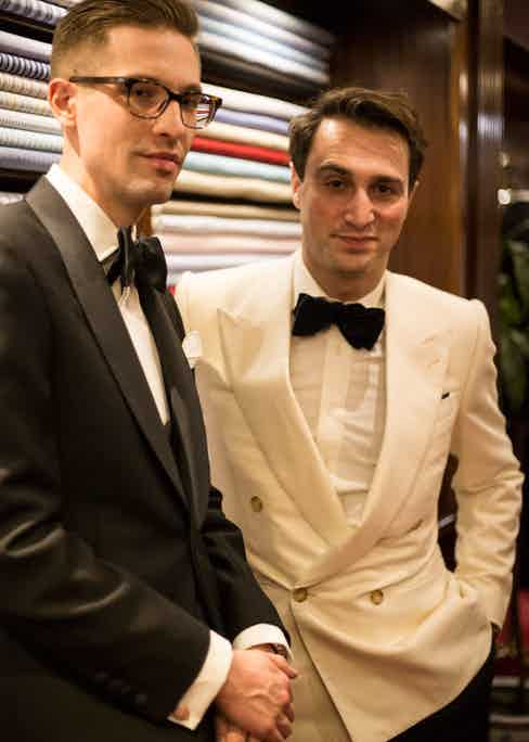 Ben St George and Dominic Sebag-Montefiore.